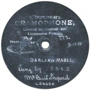 """7"""" (18cm). Rec. 30-12-1898."""