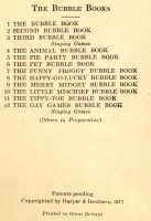Inside front cover of book 1