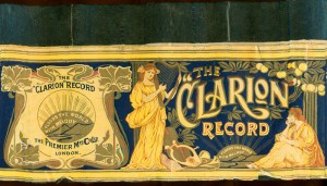 Clarion cylinder box.