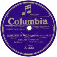 British recording, early 1925.