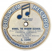 Label for Original Cast recordings. This one 1919. Bob Lilley.