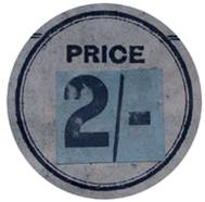 Revised price sticker.